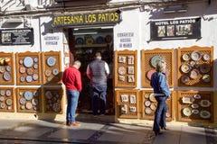 Spanien-Handwerk Lizenzfreies Stockfoto