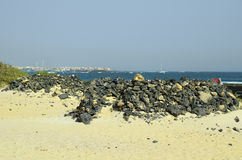 Spanien, Kanarische Insel, Fuerteventura lizenzfreies stockfoto