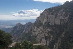Spanien. Katalonien. Montserrat. Stockfotografie