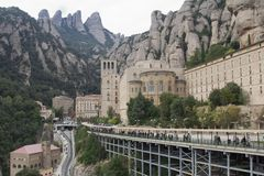 Spanien. Katalonien. Montserrat. Stockfoto