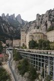 Spanien. Katalonien. Montserrat. Lizenzfreies Stockbild