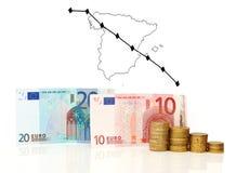 Spanien-Krise Stockbilder