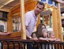 Spanien kungafamiljenferier Arkivfoton