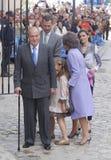 Spanien kungliga personer 013 Royaltyfri Bild