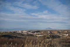 Spanien-Landschaft Stockfotos