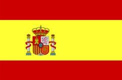 Spanien-Markierungsfahne Lizenzfreie Stockfotografie