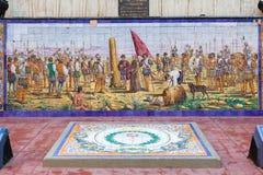 Spanien-Piazza Mendoza Argentinien Stockfotos