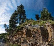 Spanien Pyrenees Royaltyfria Foton