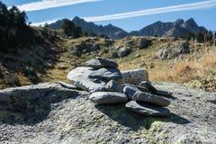 Spanien Pyrenees Royaltyfria Bilder