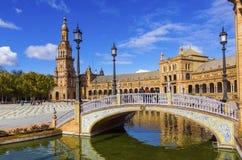 Spanien-Quadrat stockbild