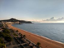 Spanien stränder Royaltyfria Foton