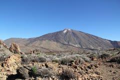 Spanien Tenerife, Teide nationalpark Arkivbild