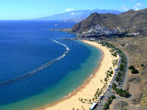 Spanien, Teneriffa, Playa de Las Teresitas Lizenzfreie Stockbilder