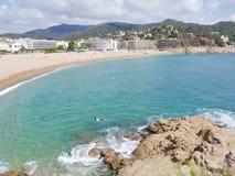 spanien Tossa de Mar Stockbilder