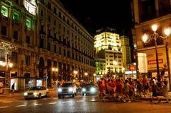 Spanien-Weltfußballmeister Stockfotografie