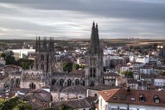 Spanisch-Markstein Burgos Cathedral Lizenzfreies Stockfoto