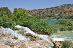 Spanisch Natur-Park Lagunas De Ruidera Stockbilder