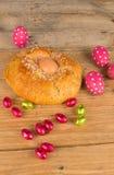 Spanisch-Ostern-Kuchen stockbild