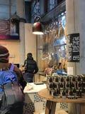 Spanisch speichert im Stadt-Markt, London, Großbritannien Lizenzfreies Stockfoto