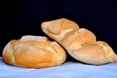 Spanisch zwei Arten Brot stockfoto