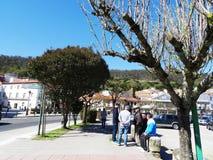 Spanische alte Männer - Muros - Spanien Lizenzfreies Stockbild