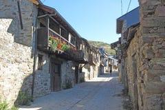 Spanische alte Stadt Stockbild