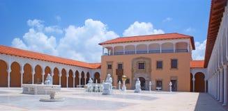 Spanische Artarchitektur lizenzfreie stockfotos