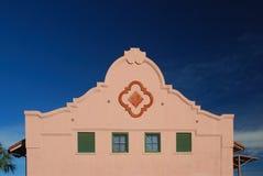 Spanische Auftrag-Fassade Lizenzfreies Stockfoto