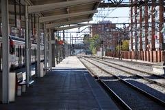 Spanische Bahnstation lizenzfreie stockbilder