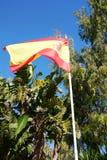 Spanische Flagge Stockfoto