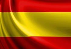 Spanische Flagge stock abbildung