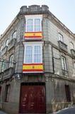 Spanische Flagge Lizenzfreie Stockfotos