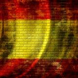 Spanische Flagge Stockfotografie