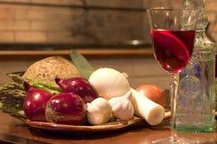 Spanische Gaststätte noch mit Sangria stockbild