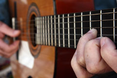 Spanische Gitarre Stockfotografie