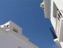 Spanische Häuser lizenzfreie stockbilder