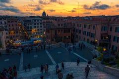 Spanische Jobstepps in Rom Stockfotografie