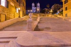 Spanische Jobstepps in Rom Italien Stockbilder