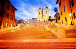 Spanische Jobstepps, Rom, Italien Lizenzfreies Stockfoto