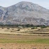 Spanische Landschaft morgens Stockfotografie