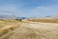 Spanische Landschaft morgens Lizenzfreie Stockfotografie