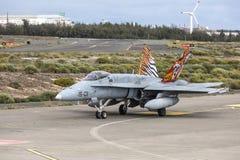 Spanische Luftwaffe Eurofighter lizenzfreie stockfotos