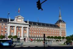 Spanische Luftwaffen-Hauptsitze in Madrid, Spanien lizenzfreie stockfotos