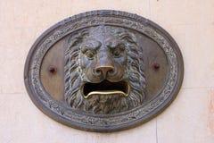 Spanische Mailbox Stockfoto