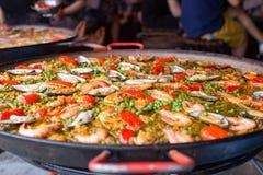 Spanische Nahrung lizenzfreies stockfoto