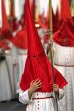 Spanische Osterwochen-Parade Stockbilder