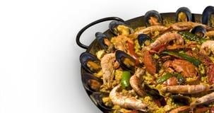 Spanische Paella Stockbild