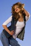 Spanische Schönheit Lizenzfreies Stockfoto