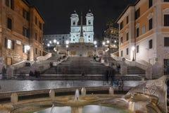 Spanische Schritte - Rom, Italien lizenzfreie stockfotografie
