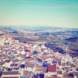 Spanische Stadt Stockfoto